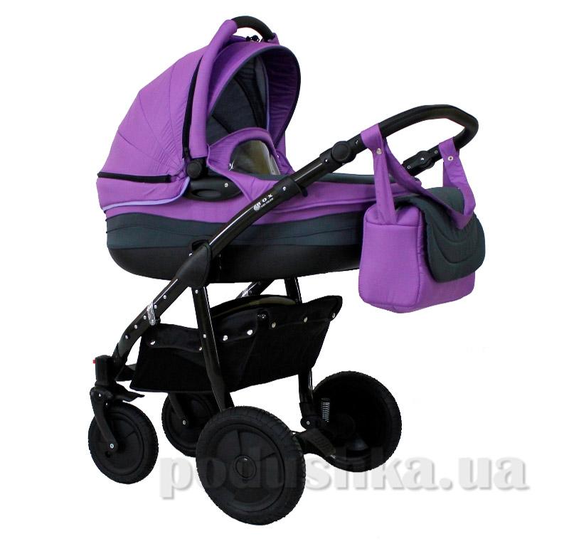 Универсальная коляска Androx RoxBaby bn-082 фиолетовая