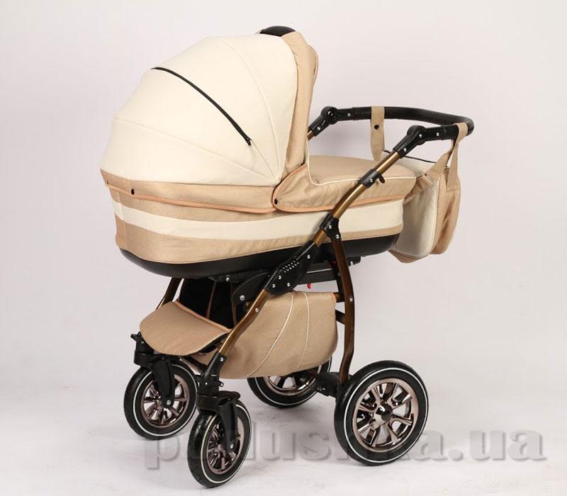 Универсальная коляска Anmar Eliss New 03L Персиковый