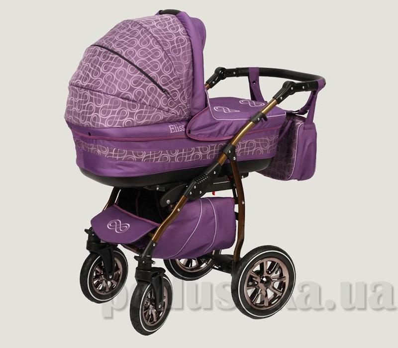 Универсальная коляска Anmar Eliss New 04 Фиолетовый