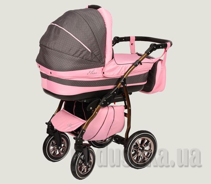 Универсальная коляска Anmar Eliss New 10 Розовый горошек