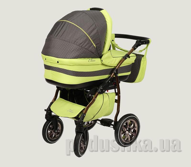 Универсальная коляска Anmar Eliss New 12 Салатовый горошек
