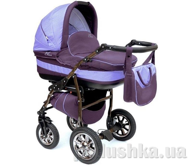 Универсальная коляска Anmar Eliss New 18 Фиолетовый