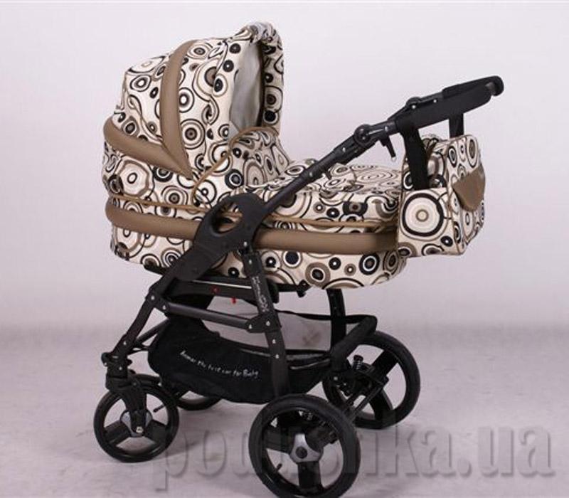 Универсальная коляска Anmar Hilux 18 Коричневый горошек