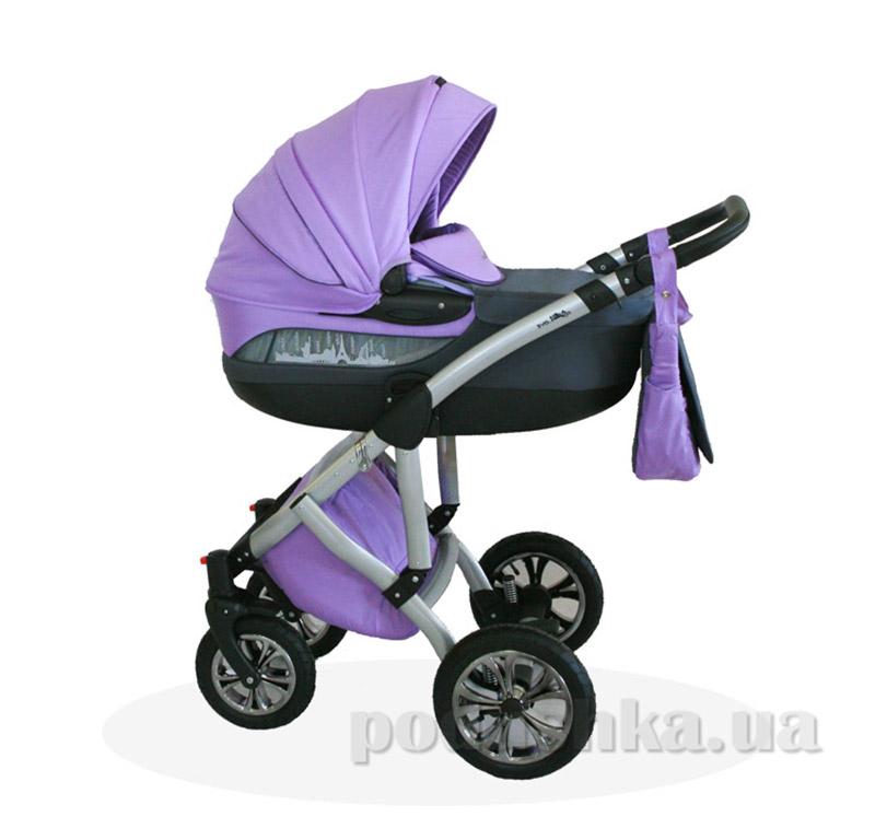 Универсальная коляска City Love Androx bn-085 фиолетовая