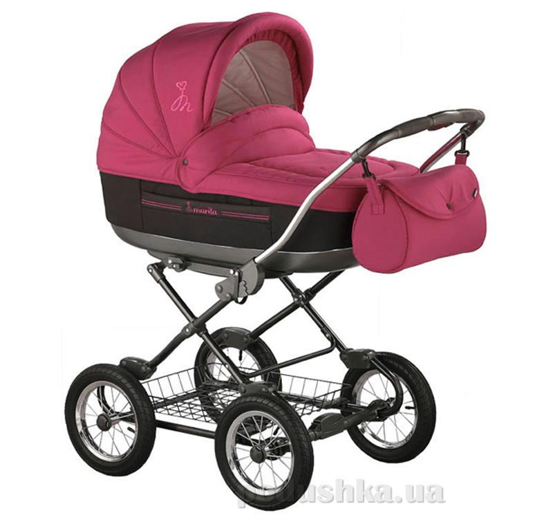 Универсальная коляска Roan Marita Lux SC-05 вишневая