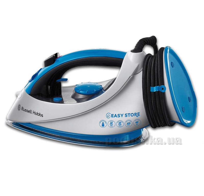 Утюг Russell Hobbs Easy Store Wrap & Clip 18616-56