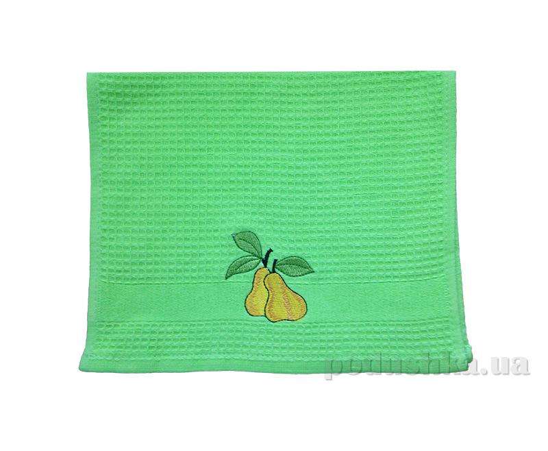 Вафельное кухонное полотенце Akipek с вышивкой