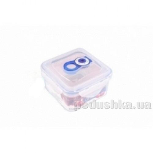 Вакуумный контейнер для хранения продуктов Gipfel 121x121x71мм (пластик) 450 мл
