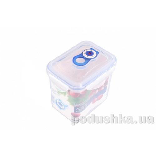 Вакуумный контейнер для хранения продуктов Gipfel 134x103x130 мм (пластик) 880 мл