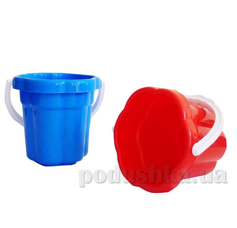 Ведерко для песка Ромашка Toys Plast 39-5-0509