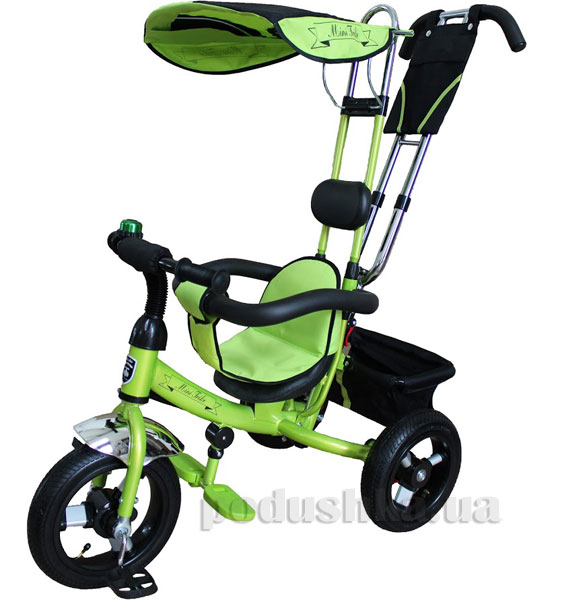 Велосипед 3-х колесный Mini Trike Mars LT950 air зеленый