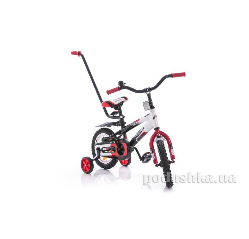 """Велосипед  14"""" Stitch РУ Красно-бело-черный Azimut"""