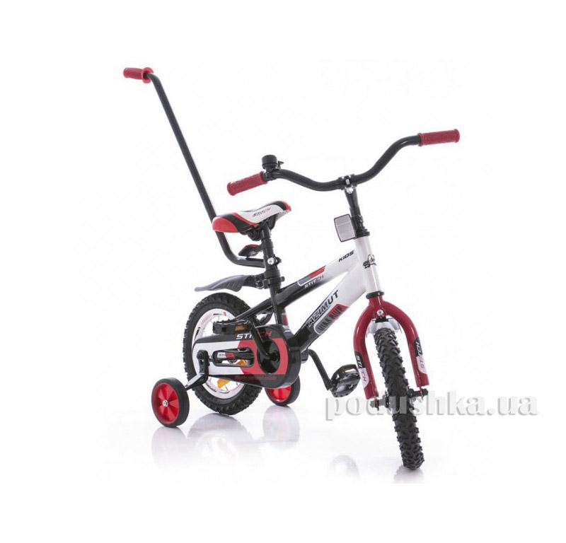 Велосипед Azimut 12 Stitch A Py Красно-черный