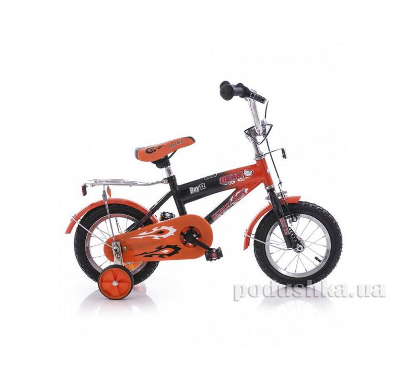Велосипед Azimut  Bear 12 Черно-оранжевый