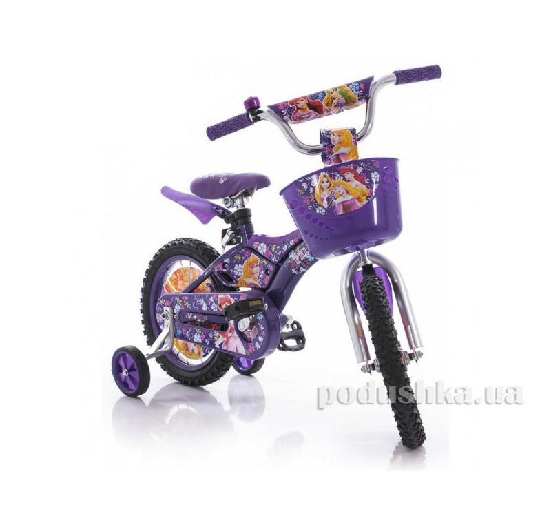 Велосипед Azimut  Pilot 14 Принцессы Сиреневый