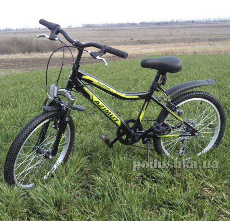 Велосипед Azimut Alpha 20 Черный