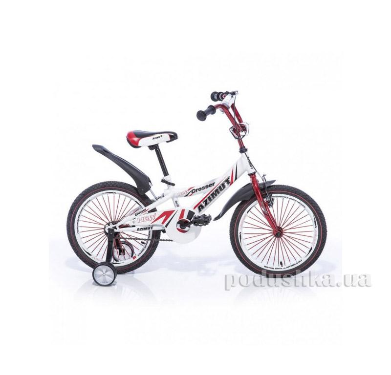 Велосипед Azimut Crossere 14 Бело-красный
