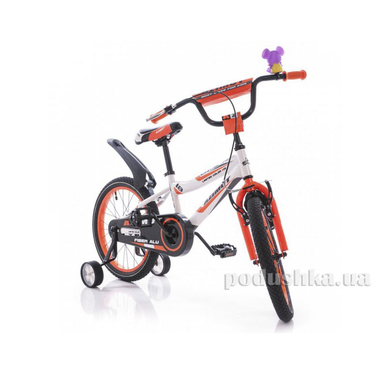 Велосипед Azimut Fiber 18 Бело-оранжевый