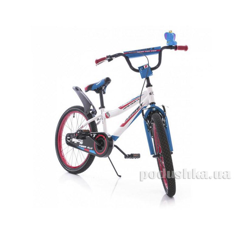 Велосипед Azimut Fiber 20 Бело-голубой