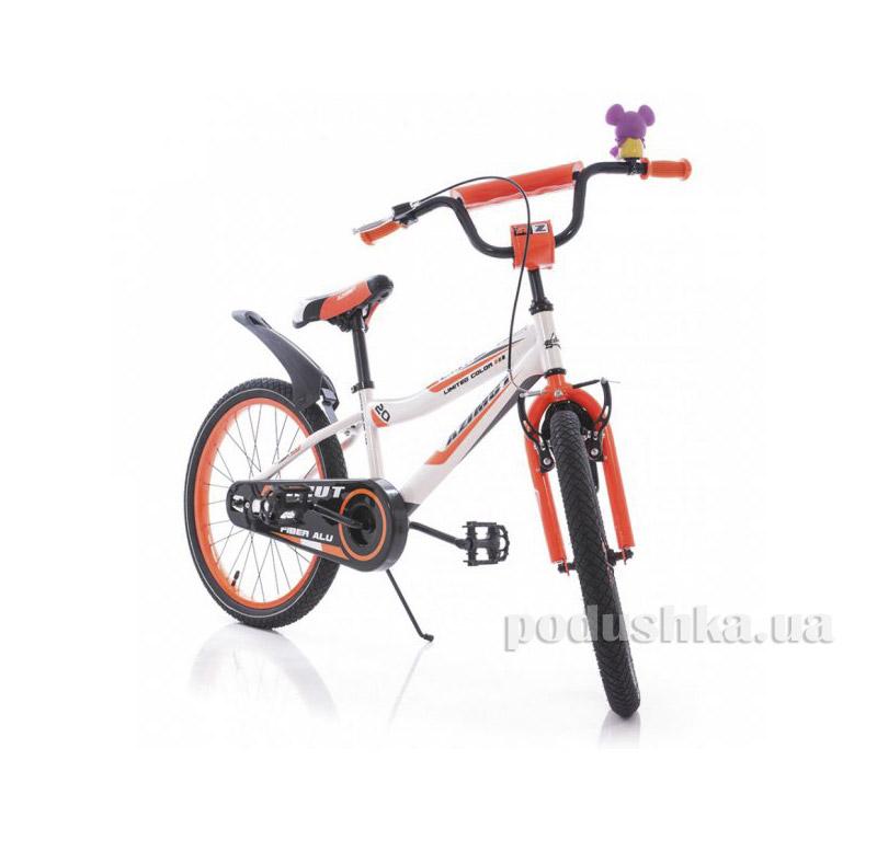 Велосипед Azimut Fiber 20 Бело-оранжевый