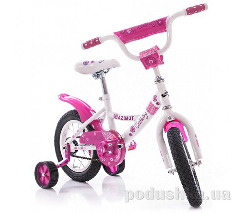 Велосипед Azimut Kathy 12 Белый