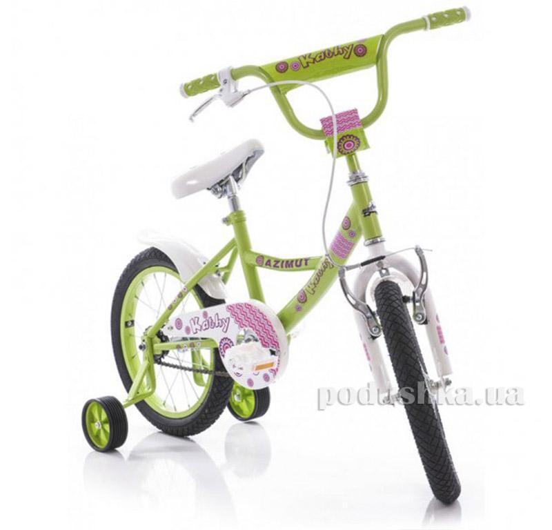 Велосипед Azimut Kathy 16 Салатовый