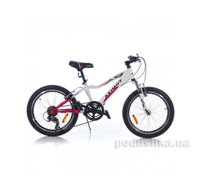 Велосипед Azimut Knight 20 Красно-белый