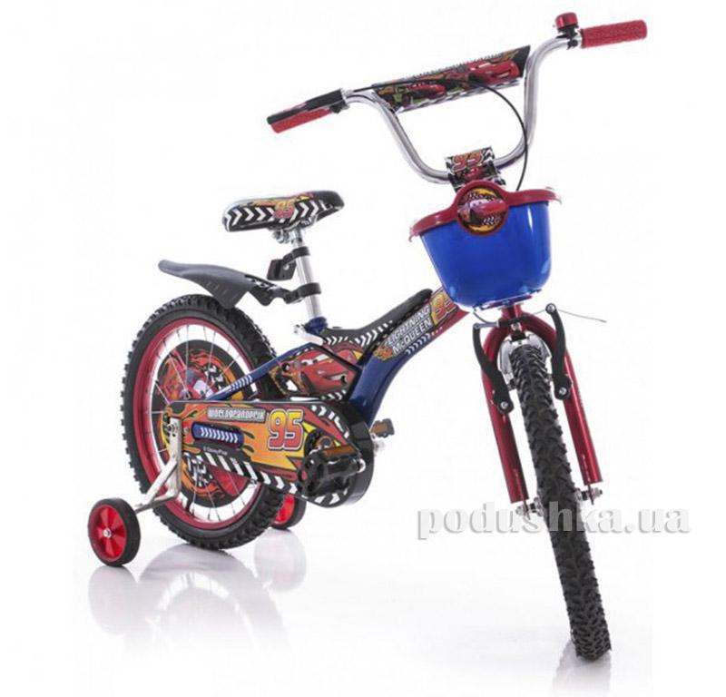 Велосипед Azimut Pilot 16 Тачки Красно-синий