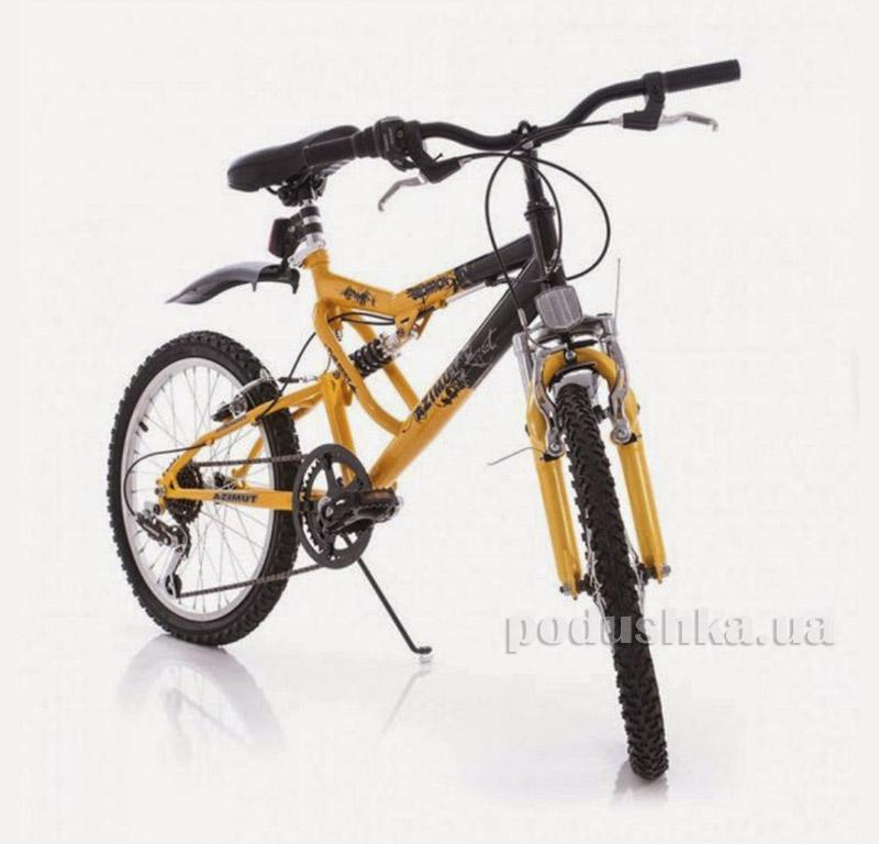 Велосипед Azimut Scorpion 20 Черно-желтый