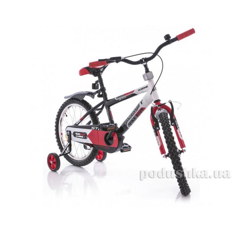 Велосипед Azimut Stitch 18 Бело-черно-красный
