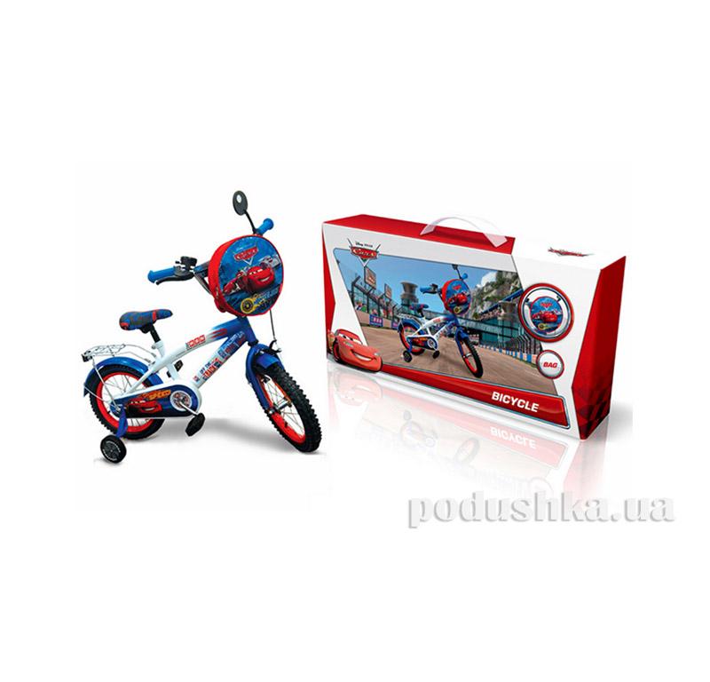 Велосипед Disney Сars 14 со звонком и зеркалом C1401