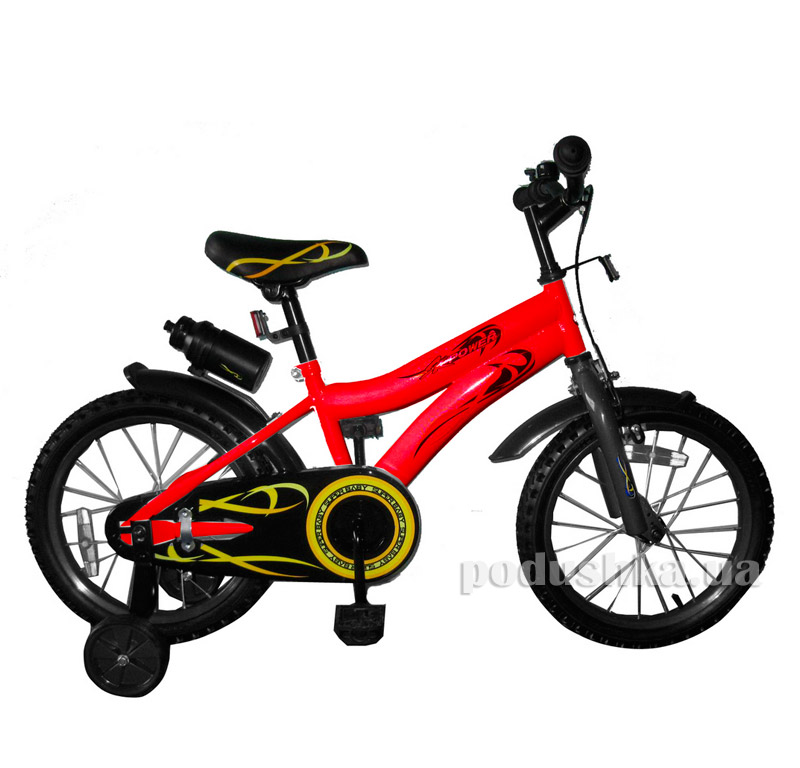 Велосипед двухколёсный Red/black BabyHit Swallow 10169