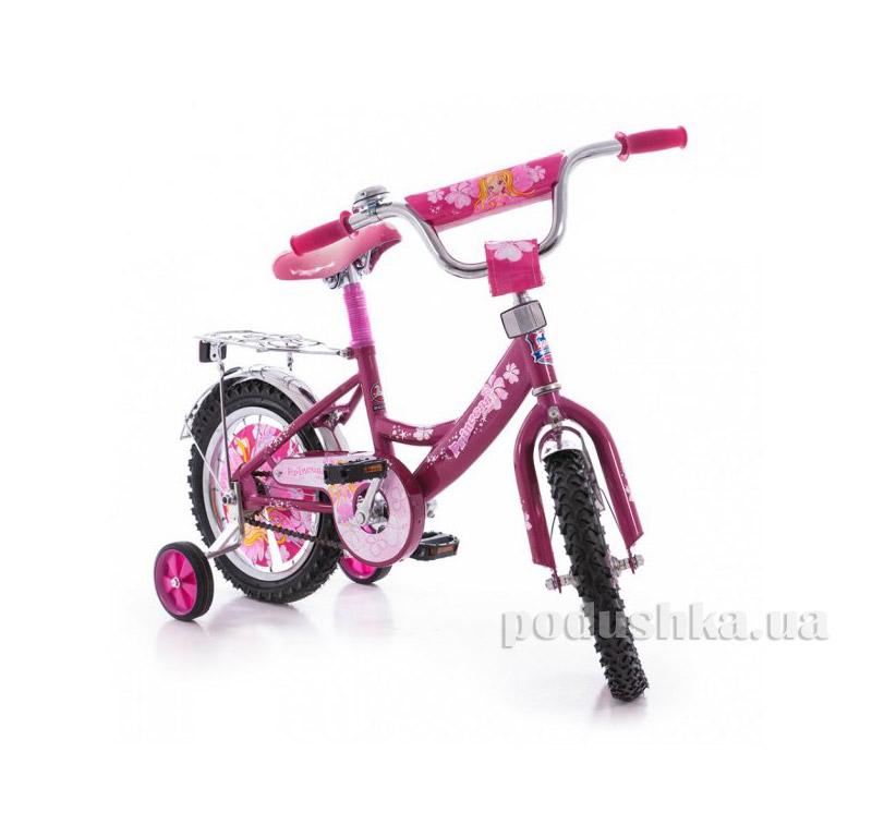 Велосипед Mustang 12 Принцесса Сиреневый