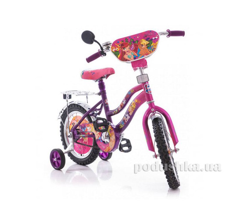 Велосипед Mustang Winx 14 Розово-сиреневый