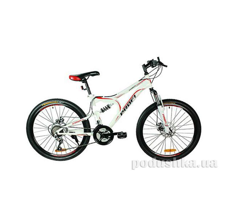 Велосипед Profi 20 G20 Damper S20.2 Белый