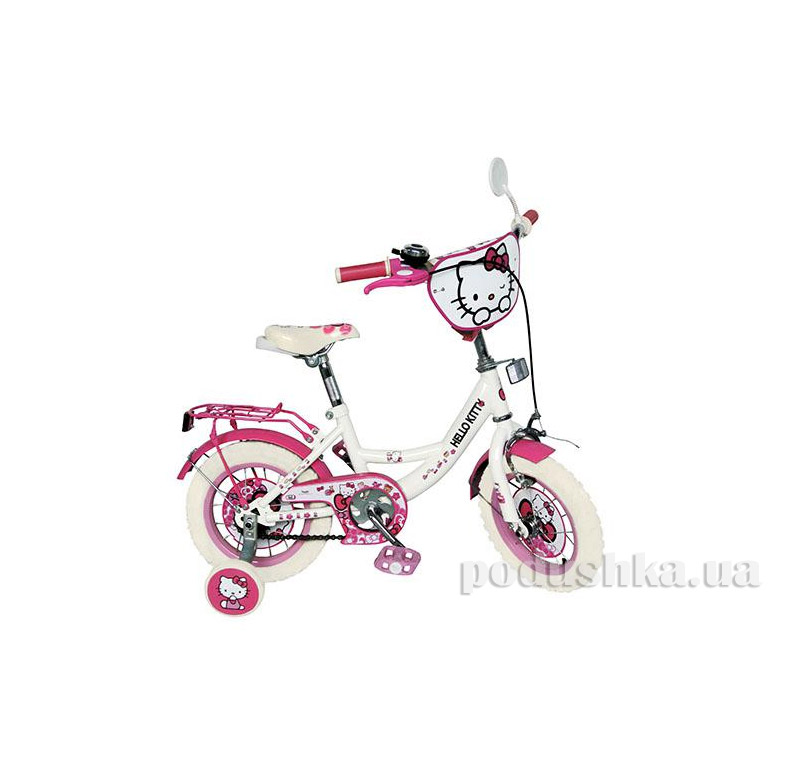 Велосипед Profi Trike 12 HK 0073 W Hello Kitty