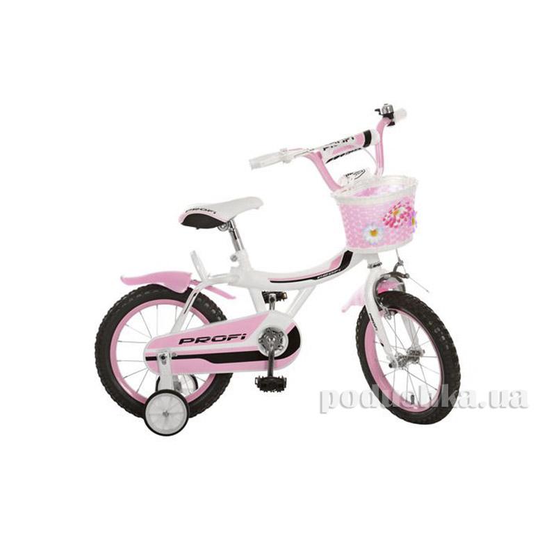 Велосипед Profi Trike 14BX406-3 14 Бело-розовый