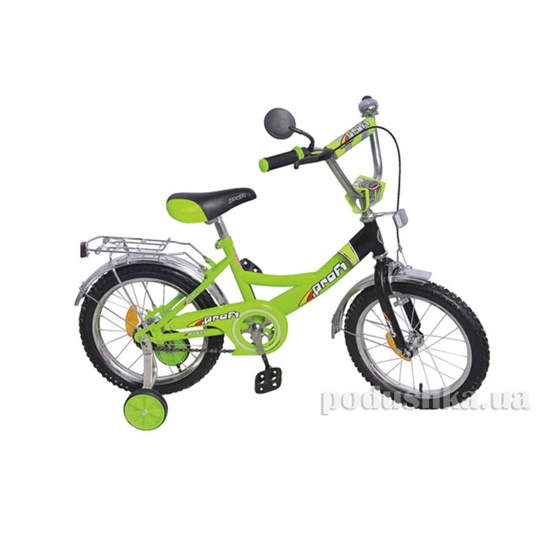 Велосипед Profi Trike 16 P1645 Салатово-черный
