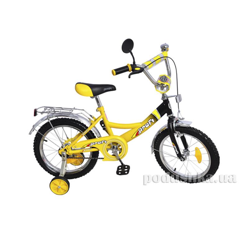 Велосипед Profi Trike 16 P1647 Желто-черный
