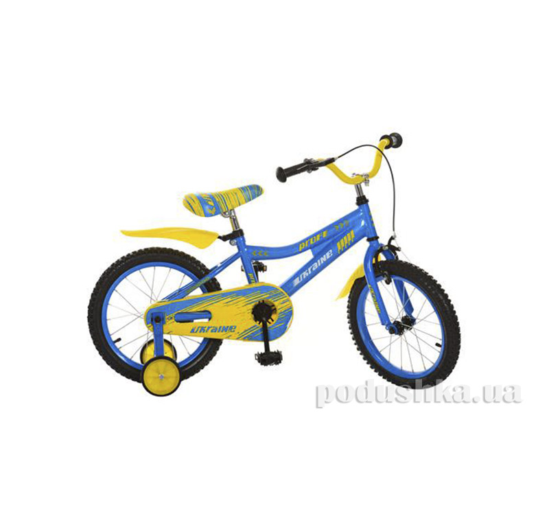Велосипед Profi Trike 16BA494UK 16 Ukraine Желто-голубой