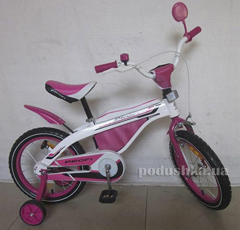 Велосипед Profi Trike 16BX405-2 16 Бело-розовый