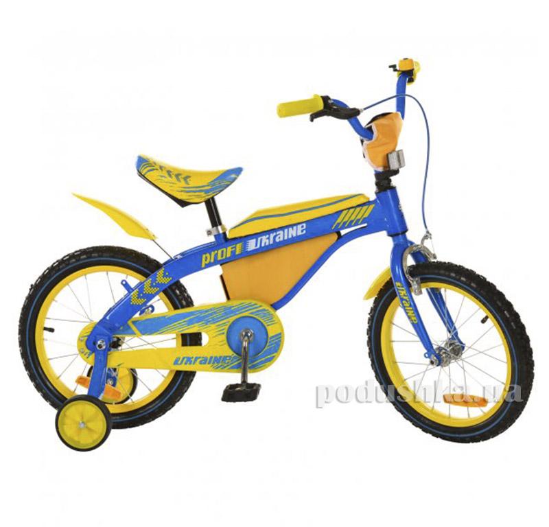 Велосипед Profi Trike 16BX405UK 16 UKR Желто-голубой