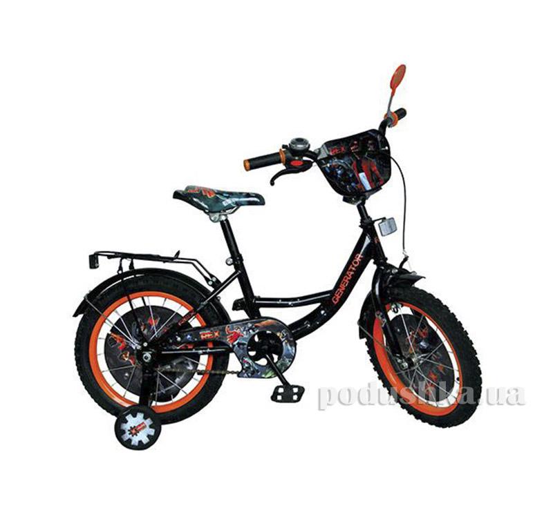 Велосипед Profi Trike GR 0004 18 Черно-оранжевый