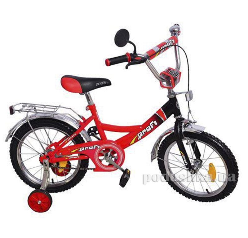 Велосипед Profi Trike P1446 14 Красно-черный