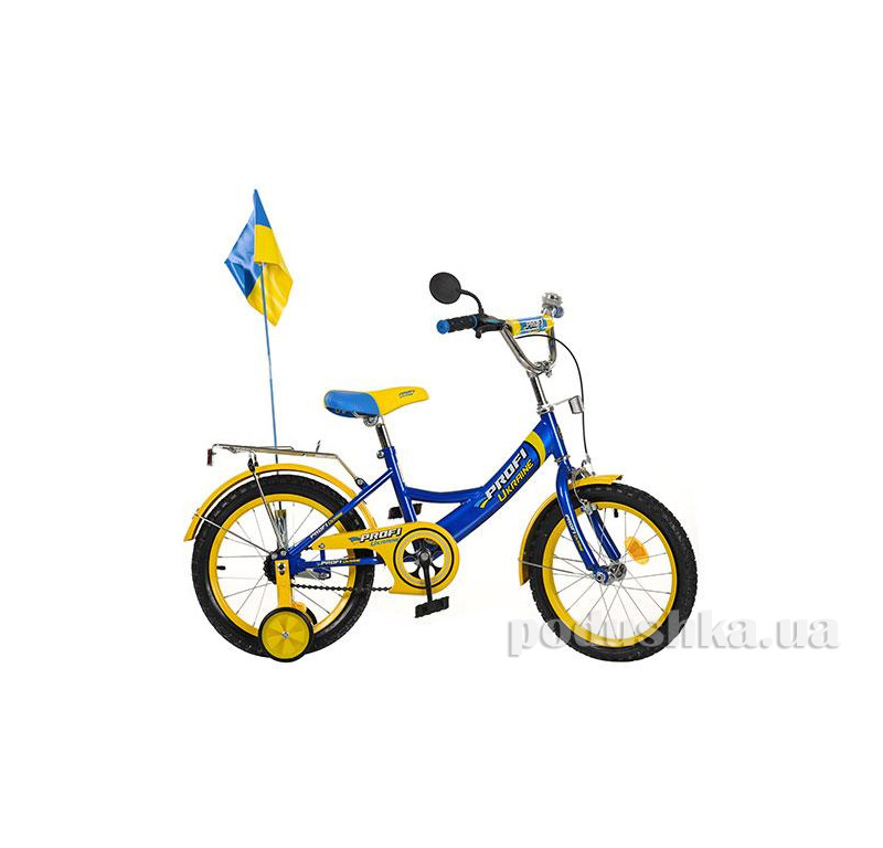 Велосипед Profi Trike P1649 UK-1 16 Ukraine Голубой