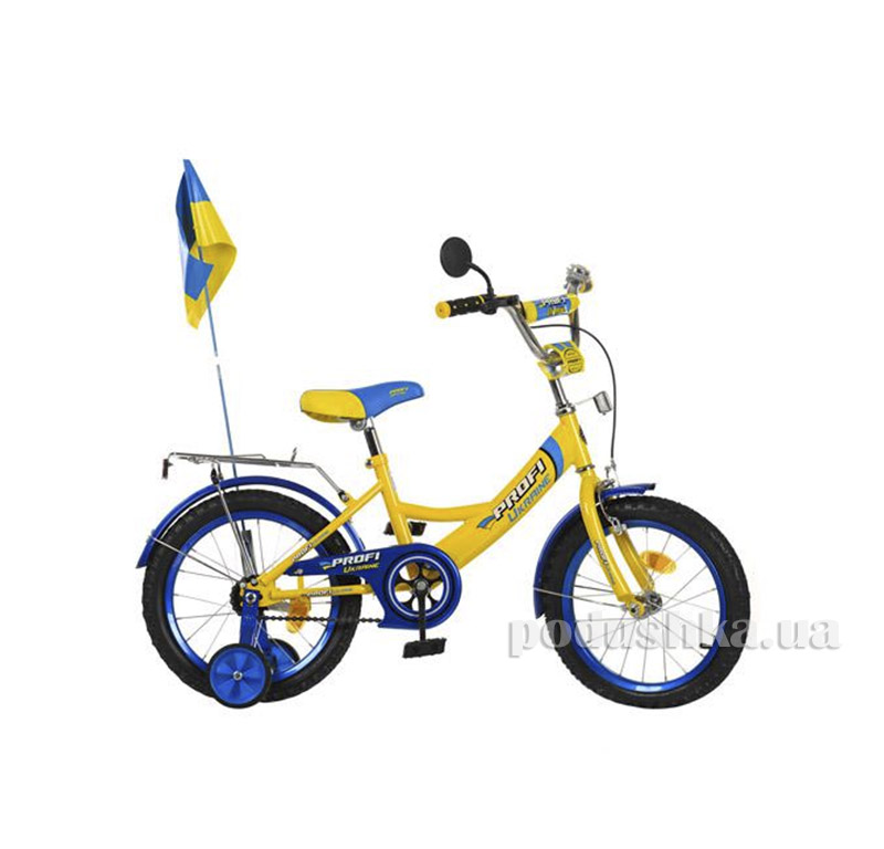 Велосипед Profi Trike P1849 UK-2 18 Ukraine Желтый