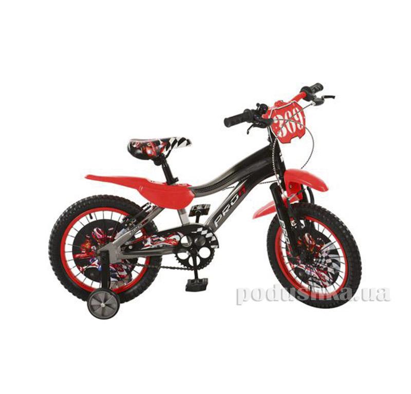 Велосипед Profi Trike SX16-19-F1 Красно-серый