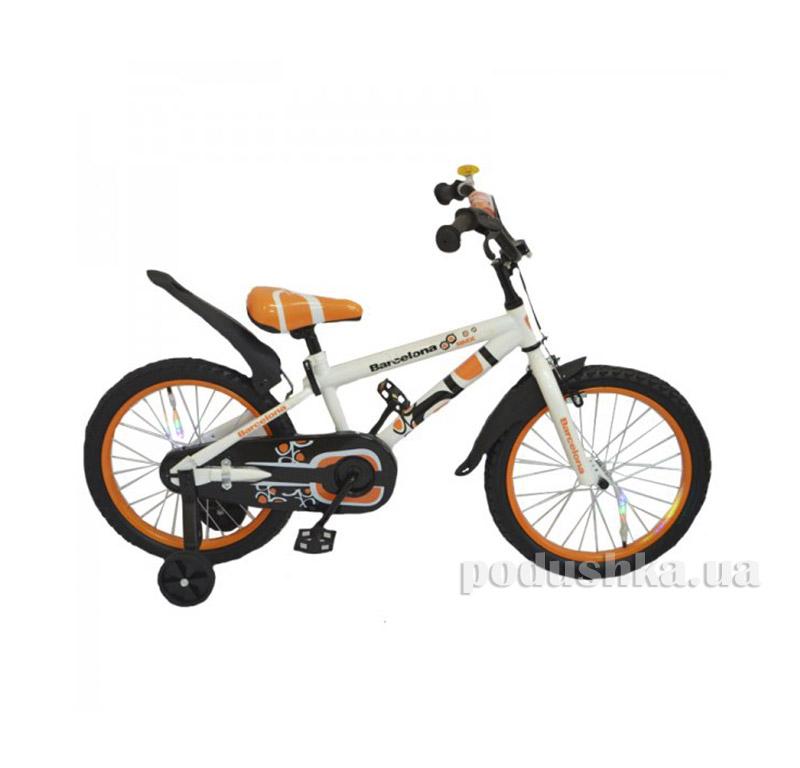 Велосипед Rueda Barcelona 12 Оранжевый