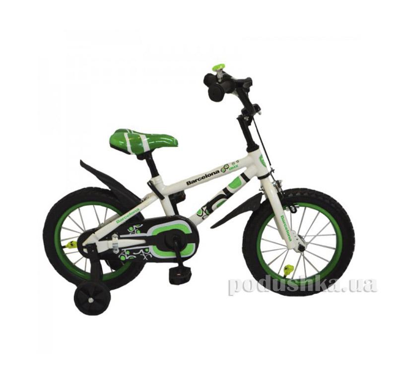 Велосипед Rueda Barcelona 12 Зеленый   Rueda
