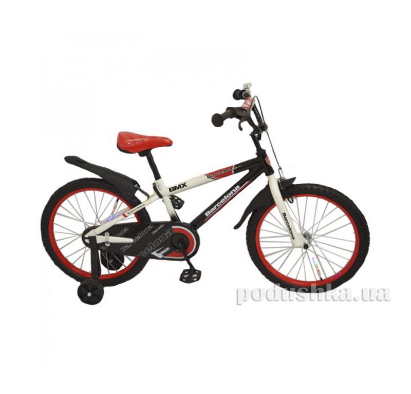 Велосипед Rueda Barcelona 14 Красный   Rueda